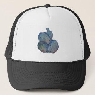 Purple Prickly Pear Watercolor Trucker Hat
