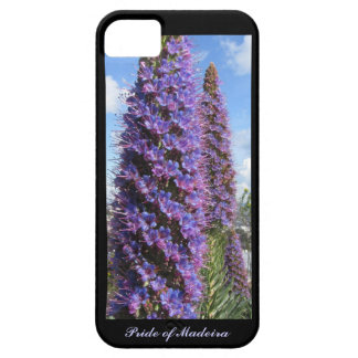 Purple Pride of Madeira Flower iPhone 5 Cases
