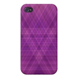 Purple Print iPhone Case 4 iPhone 4 Case