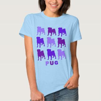 Purple Pugs Tshirts