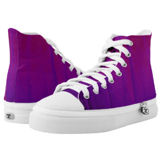 Purple Pumpkin Kicks High Tops