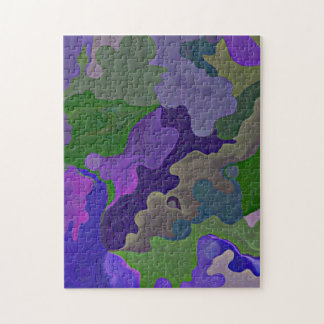 purple puzzle pieces jigsaw