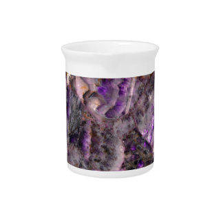 purple quartz pitcher