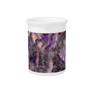 purple quartz pitcher