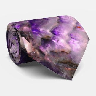 Purple Quartz Tie