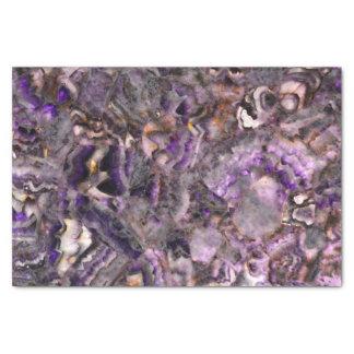 Purple Quartz Tissue Paper