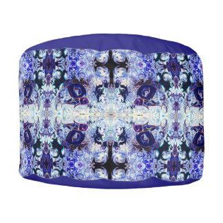 Purple Rabbit Yoga Pose Pouf Pillow be Deprise