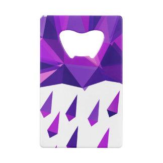 Purple Rain Contemporary Geometry
