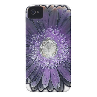 Purple Rain gerbera iPhone 4 Cover