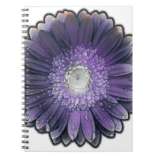 Purple Rain gerbera Notebooks