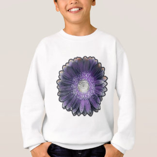 Purple Rain gerbera Sweatshirt