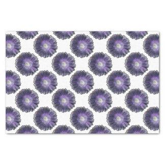Purple Rain gerbera Tissue Paper