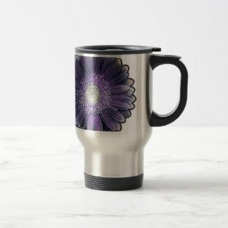 Purple Rain gerbera Travel Mug