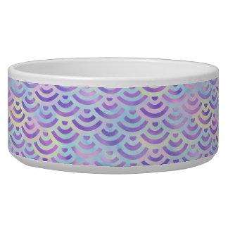 Purple Rainbow Mermaid Pastel Pattern