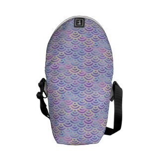 Purple Rainbow Mermaid Pastel Pattern Commuter Bags