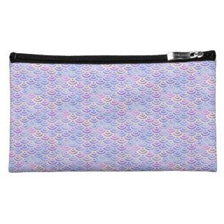 Purple Rainbow Mermaid Pastel Pattern Makeup Bags