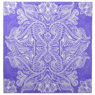 Purple, Raven of mirrors, dreams, bohemian Napkin