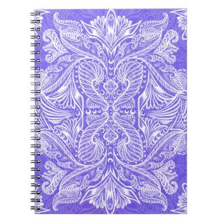 Purple, Raven of mirrors, dreams, bohemian Notebooks