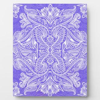 Purple, Raven of mirrors, dreams, bohemian Plaque