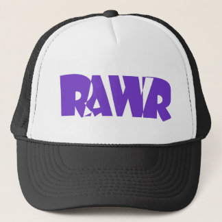 Purple Rawr Hat