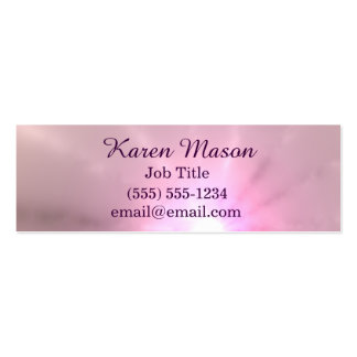 Purple Ray of Light Pack Of Skinny Business Cards
