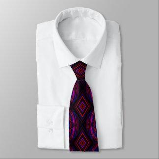 Purple Red Business Tie