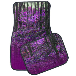 Purple Reflections Car Mat