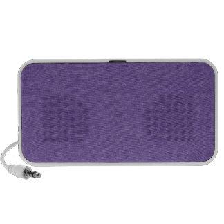 Purple Retro Cardboard Colorful Texture Pattern Notebook Speaker