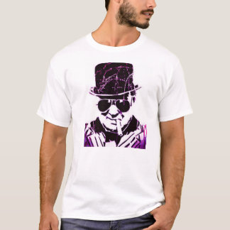 Purple retro Churchill T-Shirt
