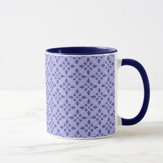 Purple Retro Mosaic Pattern Mug