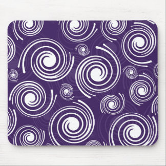 Purple Retro Mouse Pad