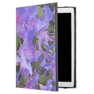 """Purple Rhododendron Blooms Floral iPad Pro 12.9"""" Case"""