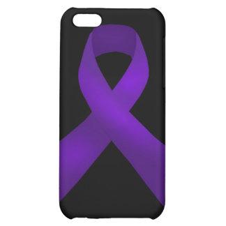 Purple Ribbon Awareness Lupus iPhone 5C Cases