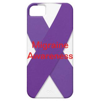 Purple Ribbon Migraine Awarness Iphone 5/5s Case