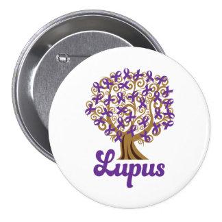 Purple Ribbon Tree Lupus Support Pin