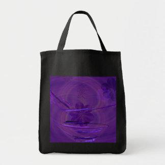 Purple Rice Bowl Abstract Art