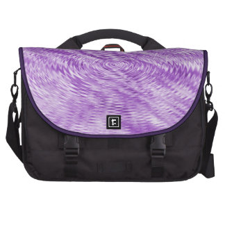 Purple Ripples Commuter Bags