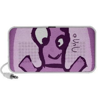 Purple Robot Caixinhas De Som Portátil