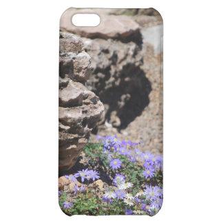 purple rock flowers iPhone 5C cover