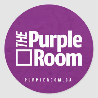 Purple Room Sticker