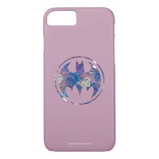 Purple Rose Bat Signal iPhone 8/7 Case