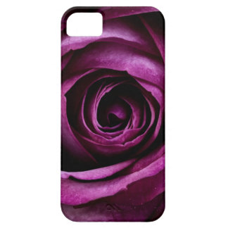 Purple Rose Case For The iPhone 5