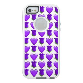 Purple Rose Emoji iPhone SE/5/5s Otterbox Case