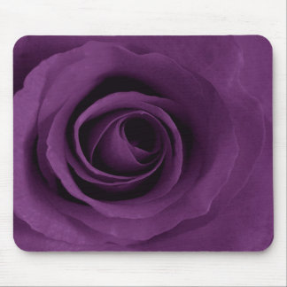 purple rose mouse pad
