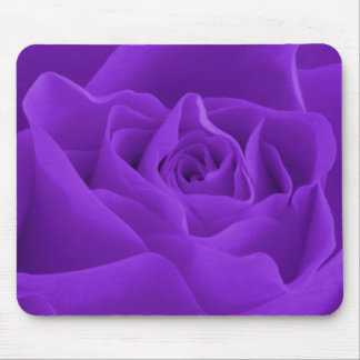Purple Rose Petals Mouse Pad