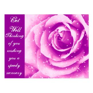 Purple Rose_ Postcard