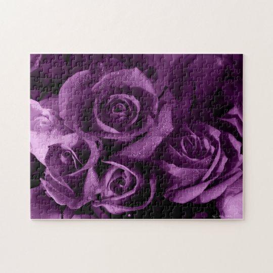 Purple Rose Puzzle