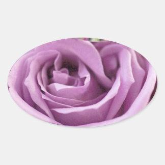 Purple Rose Summer Wedding Save The Date Sticker