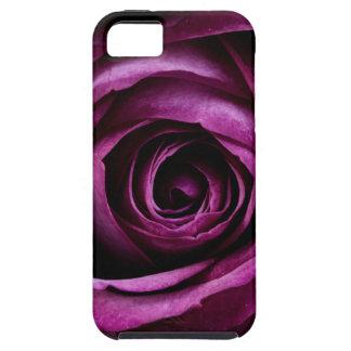 Purple Rose Tough iPhone 5 Case