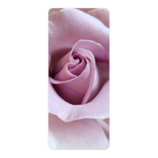 Purple Rose Wedding Photo 10 Cm X 24 Cm Invitation Card